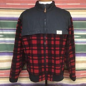 EUC POLO vintage fleece outdoorsman jacket XL